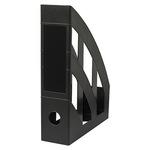 Soennecken Stehsammler 7,5 x 31,6 x 24,2 cm (B x H x T) DIN A4 Werkstoff: Polystyrol schwarz