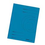 Herlitz Jurismappe DIN A4 Manilakarton, recycelt blau