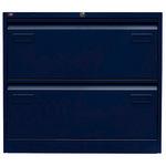 Bisley Hängeregistraturschrank LIGHT 800 x 711 x 622 mm (B x H x T) Stahl, lackiert oxfordblau