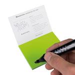 Moderationskarte Notes S 10 x 7,4 cm (B x H) Polypropylen, recyclebar grün