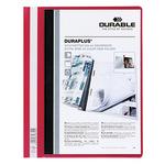 DURABLE Angebotshefter DURAPLUS® DIN A4, Überbreite PVC rot