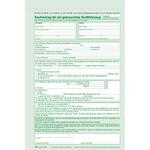RNK Kfz-Kaufvertrag DIN A4 selbstdurchschreibend 1 Durchschlag inkl. 1 Seite Hinweisseite, 1 Plakat