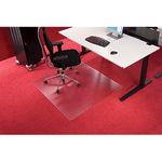 RS Bodenschutzmatte Roll-o-Grip® 300 x 120 cm (B x T) Makrolon®, 100 % recycelbar transparent