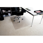 RS Bodenschutzmatte Rollt & Schützt® 120 x 150 cm (B x T) Makrolon®, 100 % recycelbar transparent