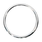 WEDO® Schlüsselring 25mm Stahl silber