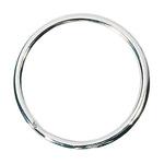 WEDO® Schlüsselring 38mm Stahl silber