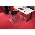 RS Bodenschutzmatte Roll-o-Grip® 120 x 90 cm (B x T) Makrolon®, 100 % recycelbar transparent
