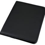 Schreibmappe PARIS 31 x 24 x 1,5 cm (B x H x T) Lederimitat schwarz