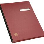 ELBA Unterschriftenmappe DIN A4 PVC rot rot 20 Fächer