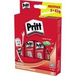 Pritt Klebestift Original Multipack nicht nachfüllbar 5 x 43g 5 St./Pack.
