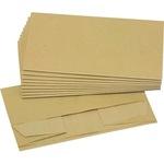 Müllsack Bio 20+16 x 36 cm (B x H) 10l Papier braun 10 St./Pack.