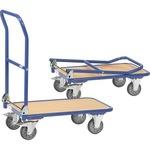 Fetra Transportwagen 47 x 93 x 81,5 cm (B x H x L) 250kg Stahl, pulverbeschichtet/Holz