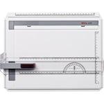 rotring Zeichenplatte profil DIN A4 mit freier Nullpunktwahl Kunststoff hellgrau