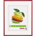 Hama Bilderrahmen Sevilla 50 x 70 cm (B x H) 30 x 45 cm (B x H) Reflexglas Kunststoff rot