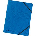 Falken Eckspanner DIN A4 Colorspankarton blau