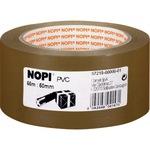 NOPI® Packband 50 mm x 66 m (B x L) PVC braun