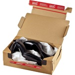 ColomPac® Versandkarton Return® Box XL Innenmaße: 38,4 x 19 x 29 cm (B x H x T) Außenmaße: 40 x 20 x 30 cm (B x H x T) Kraftliner Wellpappe braun