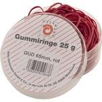 WIHEDÜ Gummiring 65mm Kautschuk rot 25 g/Pack.