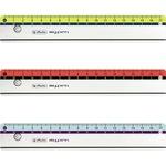 Herlitz Lineal my.pen 17cm Kunststoff farbig sortiert (freie Farbauswahl nicht möglich)