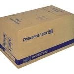 tidyPac® Umzugskarton Transportbox XL 68 x 35,5 x 35 cm (B x H x T) 30kg Wellpappe braun
