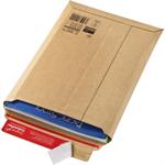 ColomPac® Versandtasche Rigid Plus 290 x 400 x -50 mm (B x H x T) ohne Fenster mit Selbstklebung Kraftliner Wellpappe braun