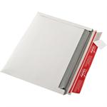 ColomPac® Versandtasche 248 x 174 x 30 mm (B x H x T) ohne Fenster mit Selbstklebung Vollpappe ohne Fadenverstärkung weiß