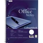 Collegeblock Office DIN A4 liniert mit Rand 70g/m² 80 Bl.