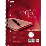 Collegeblock Office DIN A5 kariert mit Rand 70g/m² 80 Bl.