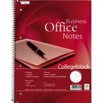 Collegeblock Office DIN A4 kariert mit Rand 70g/m² 80 Bl.