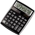 Citizen Tischrechner CDC-80 108 x 24 x 135 mm (B x H x T) Solar-Energie, Batterie schwarz
