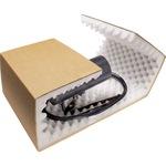 ratioform Schaumverpackung VarioPac 10 x 5 x 14 cm (B x H x L) Wellpappe, Polyurethan braun