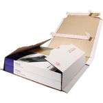 ratioform Versandkarton Multistar Innenmaße: 15,5 x 0,5-5 x 21,7 cm (B x H x T) Wellpappe 1-wellig weiß