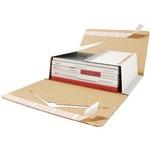 ratioform Versandkarton Varistar Innenmaße: 21,5 x 0-7,5 x 30,5 cm (B x H x T) Wellpappe 1-wellig weiß