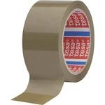 tesa® Packband tesapack® 4089 50 mm x 66 m (B x L) Naturkautschuk braun