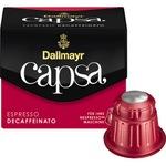 Dallmayr Espressokapsel capsa Nespresso® Maschine Decaffeinato 10 x 5,6 g/Pack.