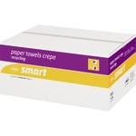 Satino Papierhandtuch Smart 25 x 50 cm (B x L) 100 % Recyclingpapier weiß 20 x 120 Bl./Pack.