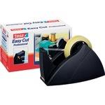 tesa® Tischabroller Easy Cut® Professional 25 mm x 66 m (B x L) schwarz