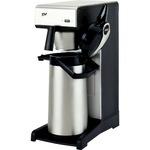 BRAVILOR BONAMAT Kaffeemaschine TH 23,5 x 40,6 x 54,5 cm (B x H x T) schwarz/silber