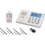 Olympia Alarmanlage Protect 9066 Batterie, Netzbetrieb inkl. 4 Tür-/Fensterkontakte, 1 Bewegungsmelder, 1 Netzadapter weiß