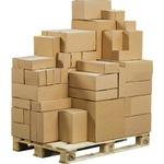 ColomPac® Versandkarton Eurobox Innenmaße: 19,5 x 14 x 14,5 cm (B x H x T) Außenmaße: 20 x 15 x 15 cm (B x H x T) Wellpappe 1-wellig braun