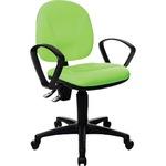 TOPSTAR Bürodrehstuhl Point 10 41-53cm Permanentkontaktmechanik Rolle hart gebremst (für Teppichboden) Polyamid grün