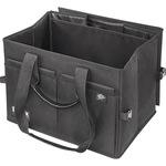 WEDO® Shopper BigBox 60 x 30 x 40 cm (B x H x T) 25kg vier Netztaschen, zwei Gummizugtaschen, zwei Fächer, drei Gummizüge Polyester schwarz
