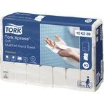 Tork Papierhandtuch Xpress® Soft 21,2 x 25,5 cm (B x L) Zellstoff weiß 21 x 150 Bl./Pack.