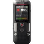 Philips Diktiergerät Digital Voice Tracer DVT 2510 4,5 x 11,3 x 2 cm (B x H x T) (LP) 136.800 min., (SP) 17.040 min., (HQ) 11.400 min., (SHQ) 5.400 min., (PCM) 720min inkl. USB-Kabel, Schnellstartanleitung anthrazit/chrom