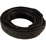 Klettband 12,7 x 200 mm (B x L) nicht selbstklebend schwarz 10 St./Pack.