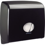 Aquarius Toilettenpapierspender Jumbo 44,6 x 38,2 x 12,9 cm (B x H x T) Kunststoff schwarz