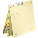 Leitz Pendelhefter Orgacolor® DIN A4 260g/m² kaufmännische Heftung mit Organisationsaufdruck Kraftkarton, recycelt chamois