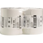 Scott® Toilettenpapier PERFORMANCE Maxi Jumbo 2-lagig Tissue weiß 6 Rl./Pack.