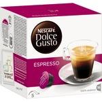 NESCAFÉ Dolce Gusto Espressokapsel 100 % arabica 16 x 6 g/Pack.