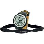 Sigma Pulsuhr PC 25.10 LCD CR2032 inkl. elastischem Brustgurt mit Sender schwarz/gelb